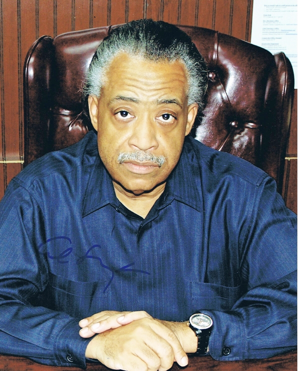 Al Sharpton Signed Photo