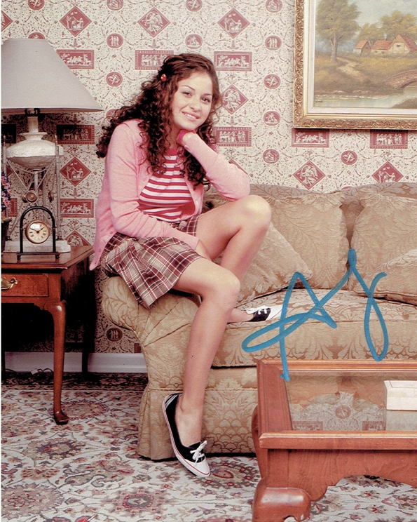 Alia Shawkat Signed Photo