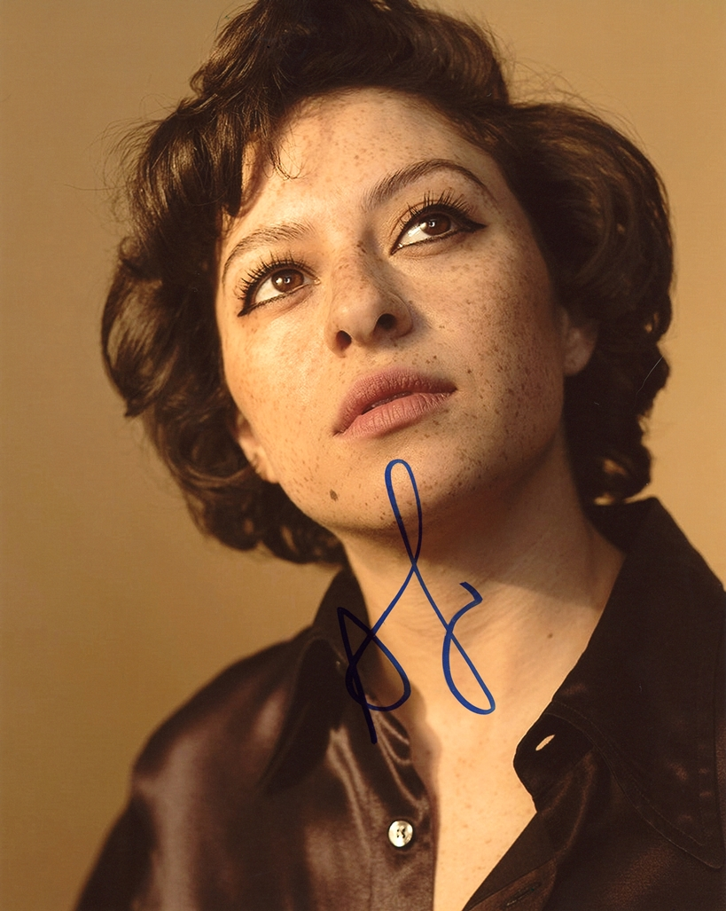 Alia Shawkat Signed Photo