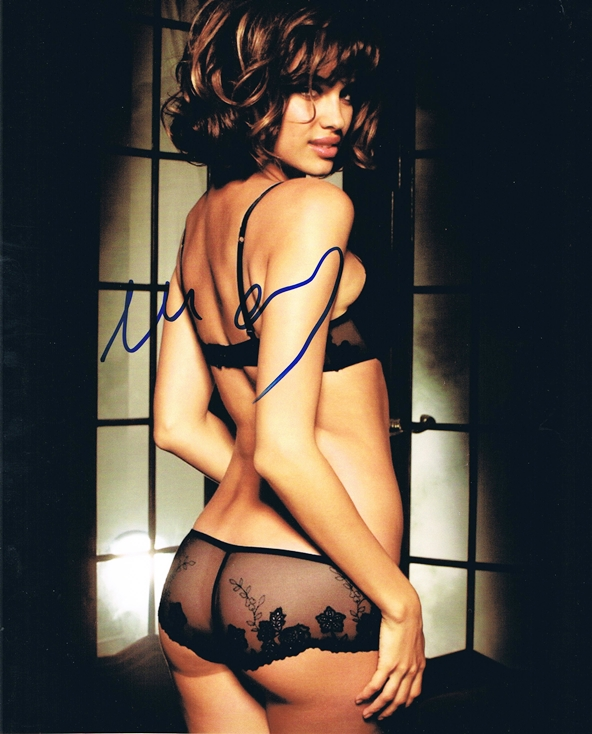 Irina Shayk Signed Photo