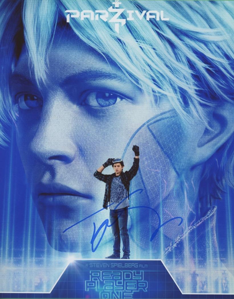 Tye Sheridan Signed Photo
