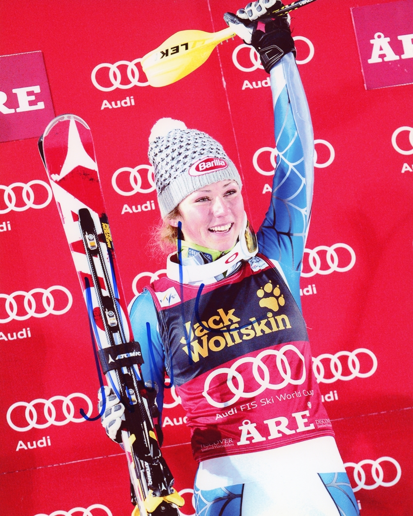Mikaela Shiffrin Signed Photo