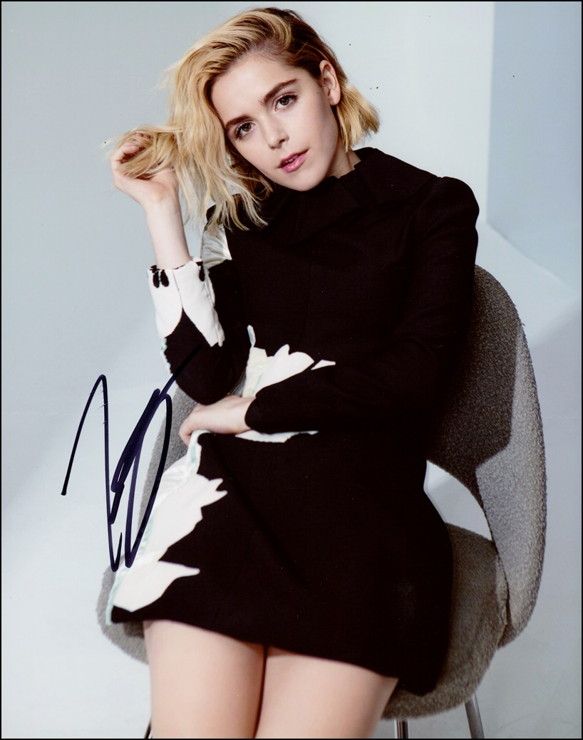 Kiernan Shipka Signed Photo