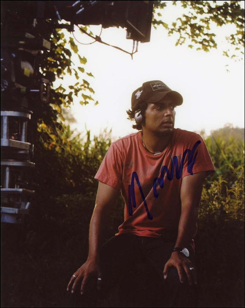 M. Night Shyamalan Signed Photo