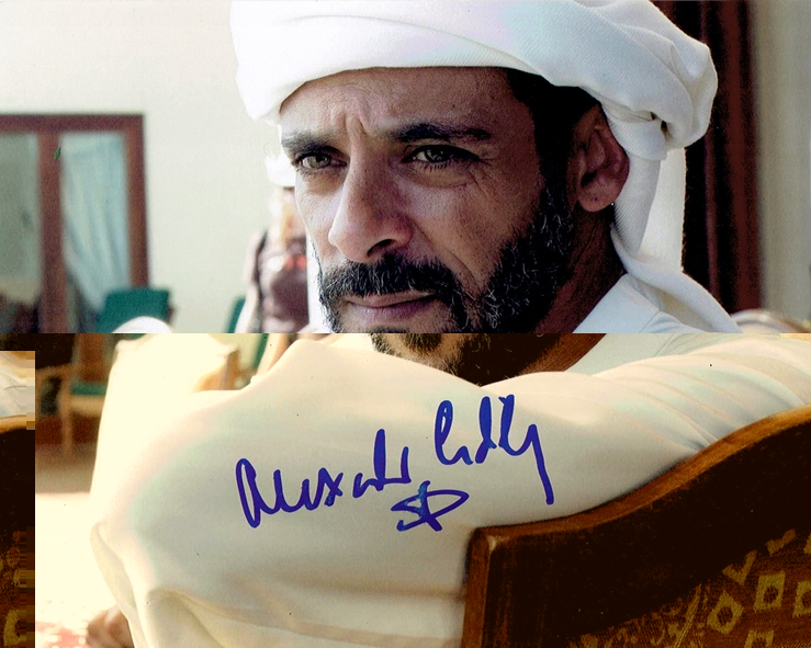 Alexander Siddig Signed Photo