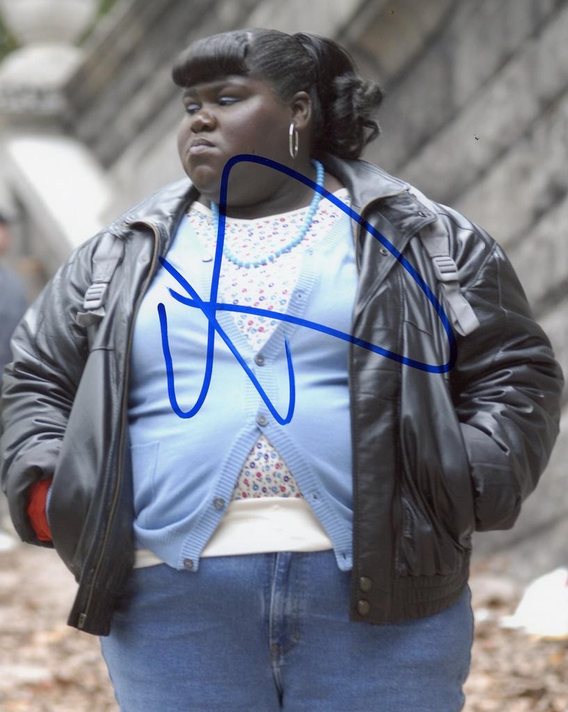 Gabourey Sidibe Signed Photo