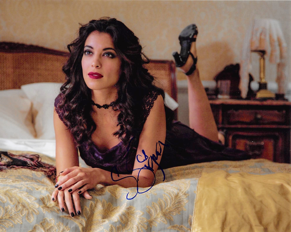 Stephanie Sigman Signed Photo