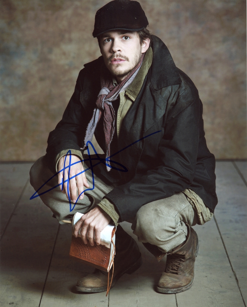 Johnny Simmons Signed Photo