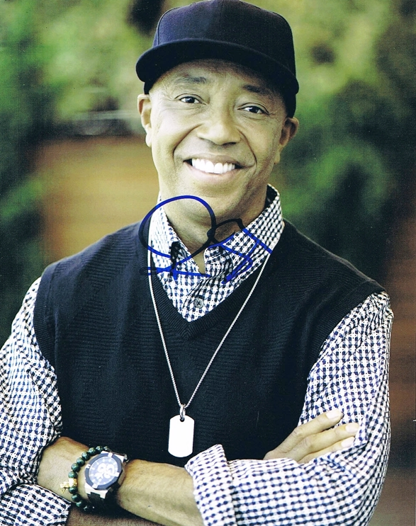 Russell Simmons Signed Photo