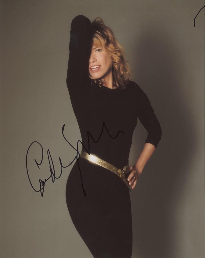 Carly Simon Signed Photo