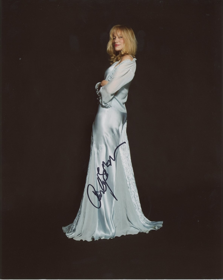 Carly Simon Signed Photo