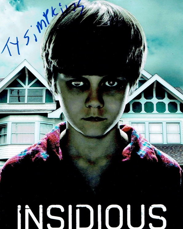 Ty Simpkins Signed Photo