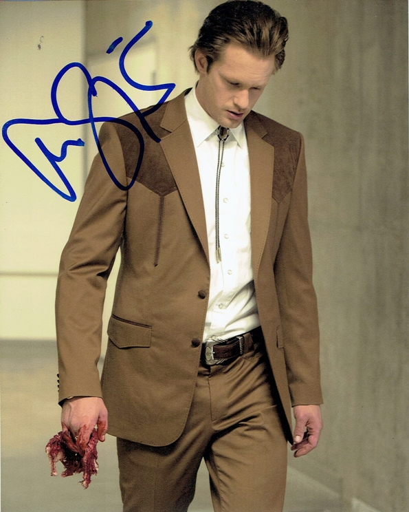 Alexander Skarsgard Signed Photo