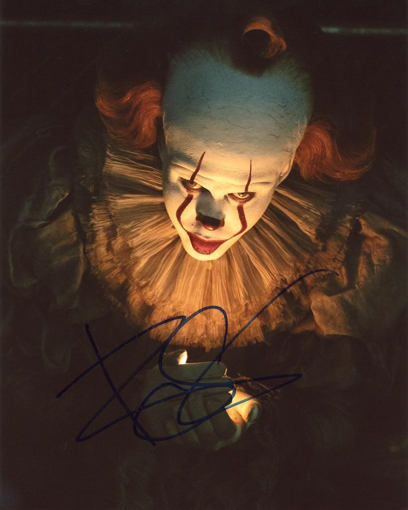 Bill Skarsgard Signed Photo