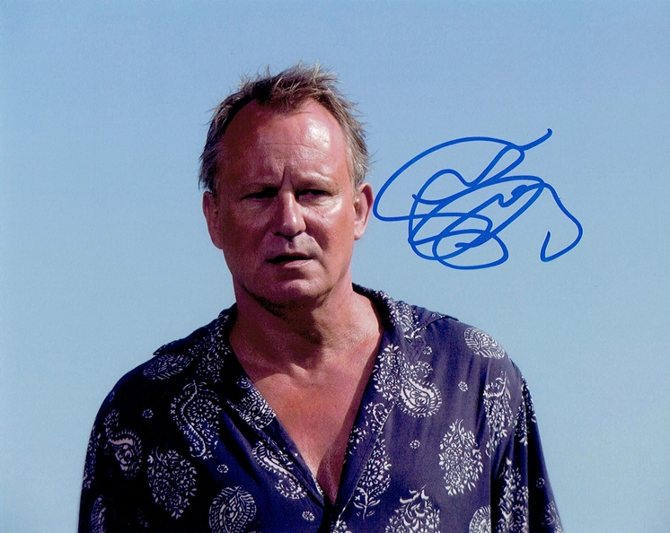 Stellan Skarsgard Signed Photo