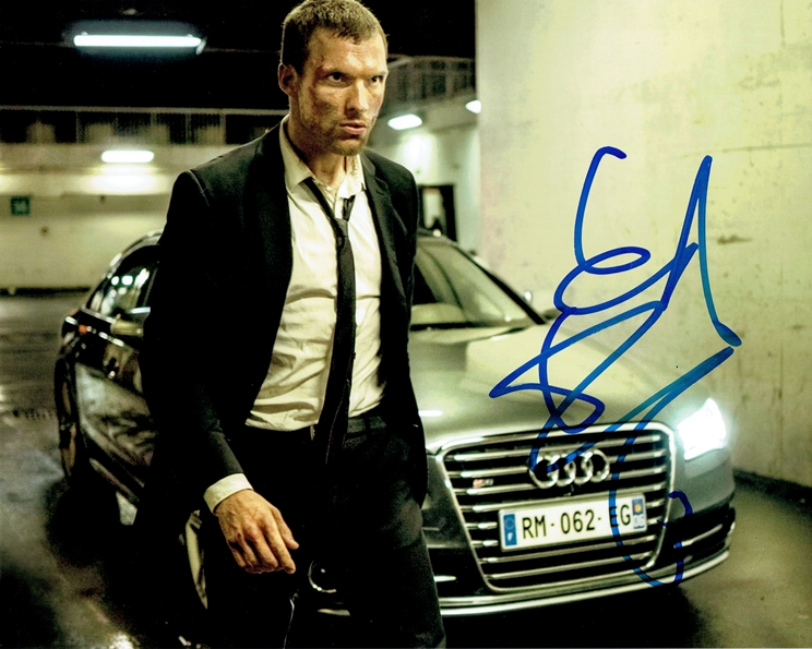 Ed Skrein Signed Photo