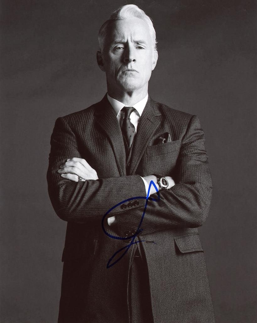 John Slattery Signed Photo