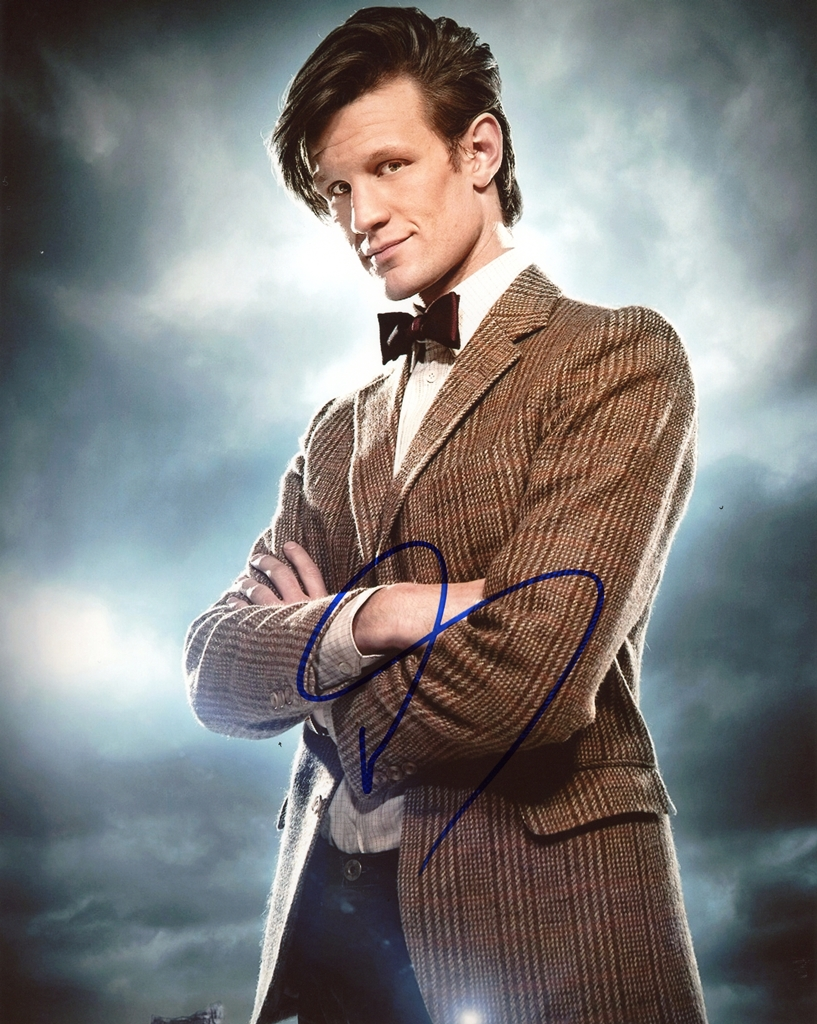 Matt Smith Signed Photo