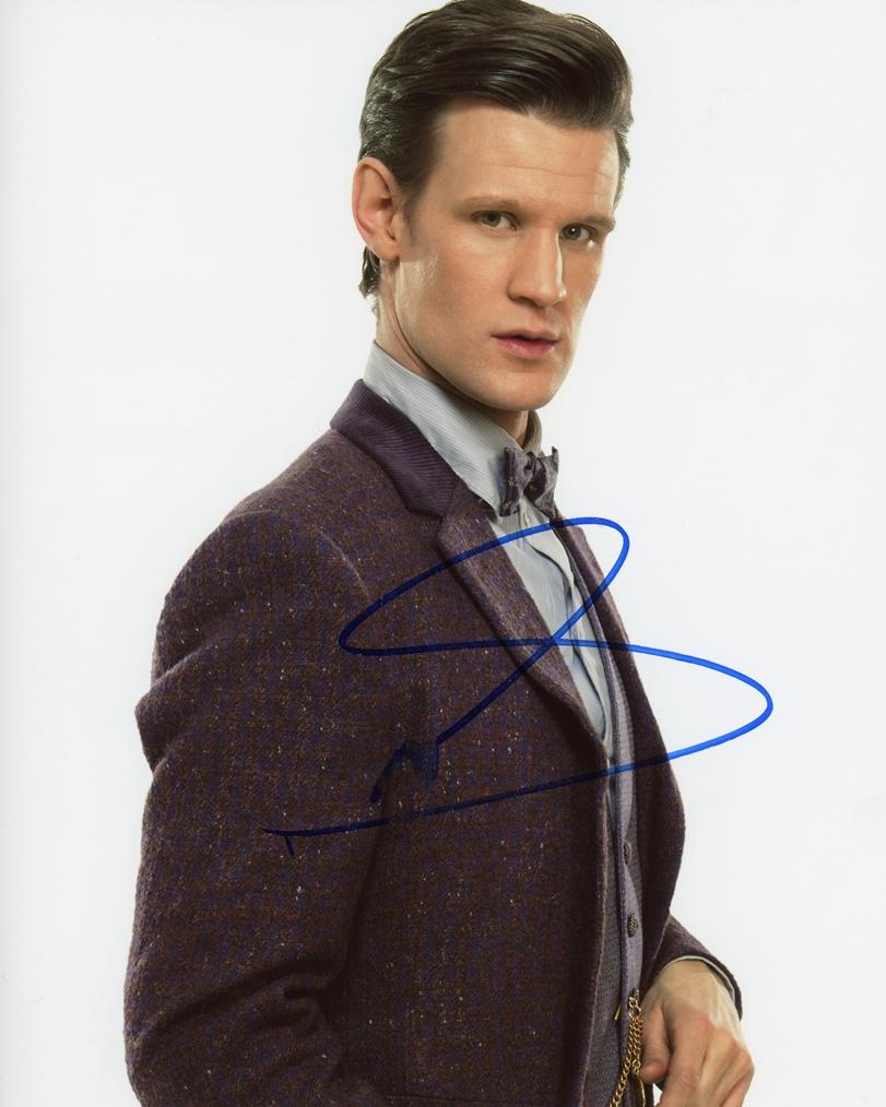 Matt Smith Signed Photo