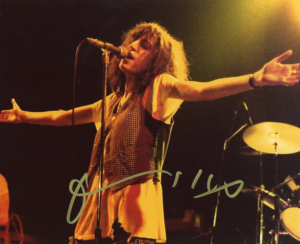 Patti Smith Signed Photo