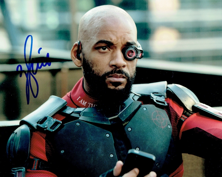 Will Smith Signed Photo