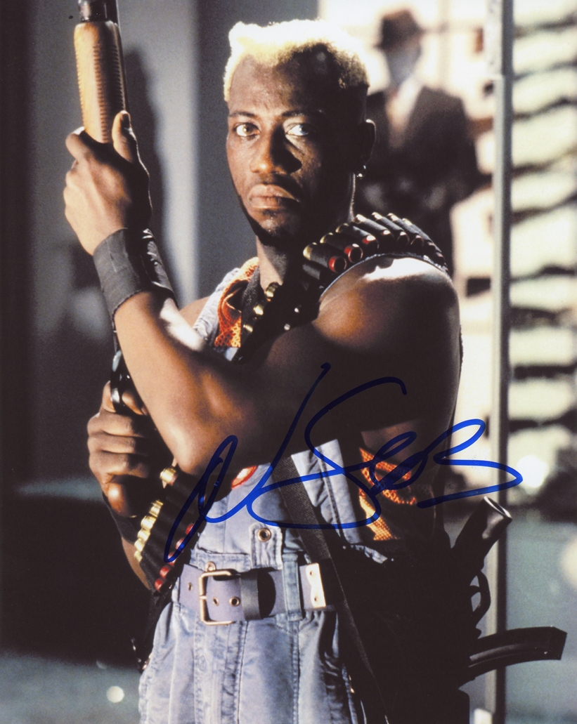 Wesley Snipes Signed Photo