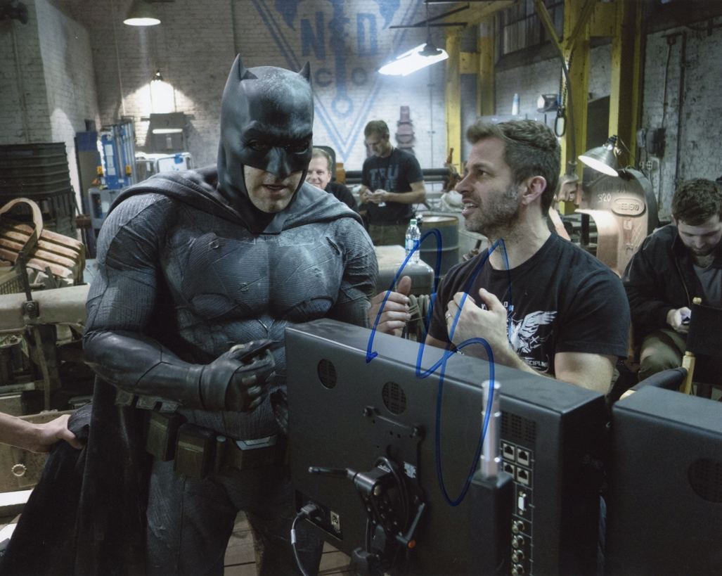 Zack Snyder Signed Photo