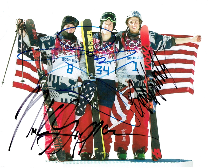 Slopestyle Signed Photo