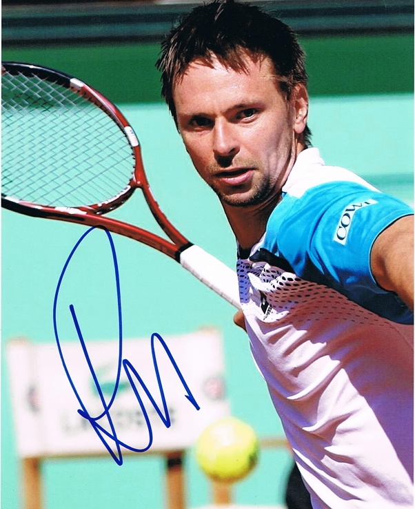 Robin Soderling Signed Photo
