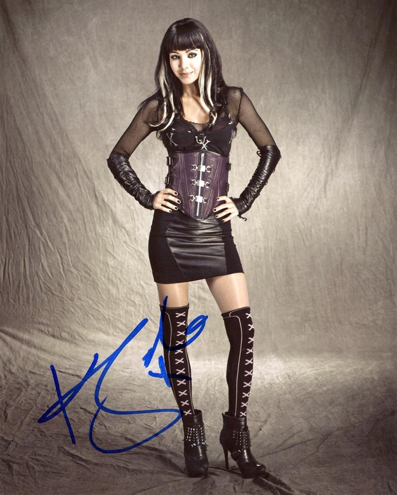 Ksenia Solo Signed Photo