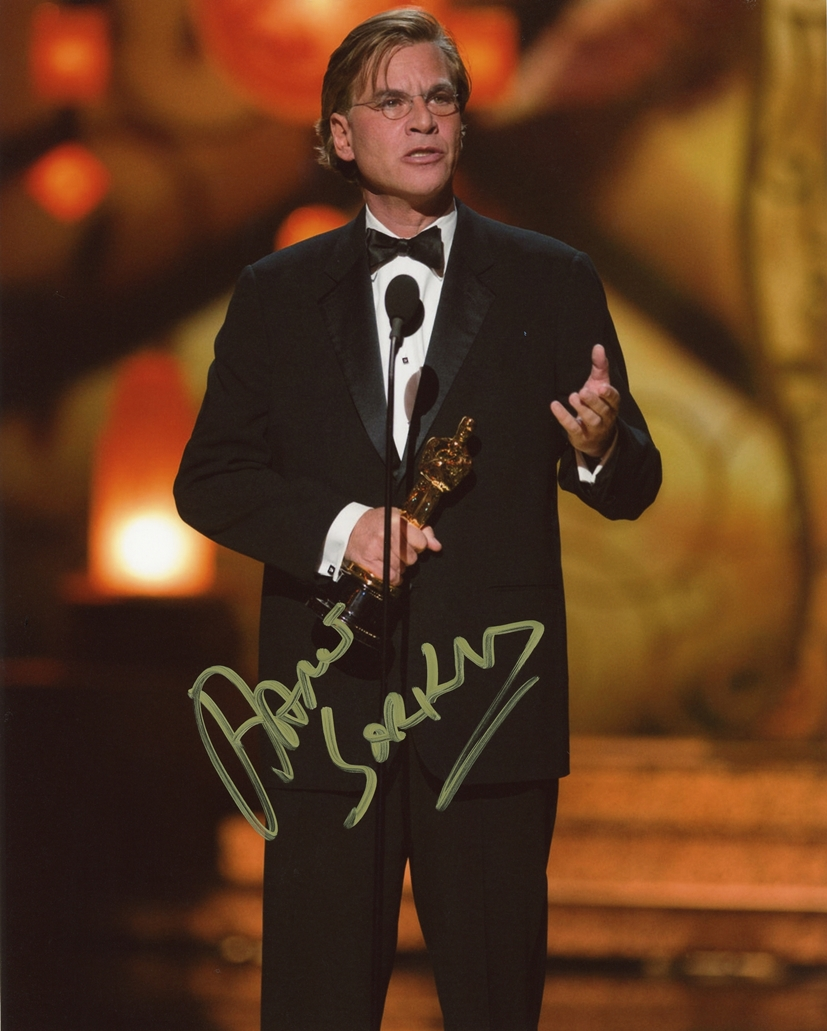 Aaron Sorkin Signed Photo