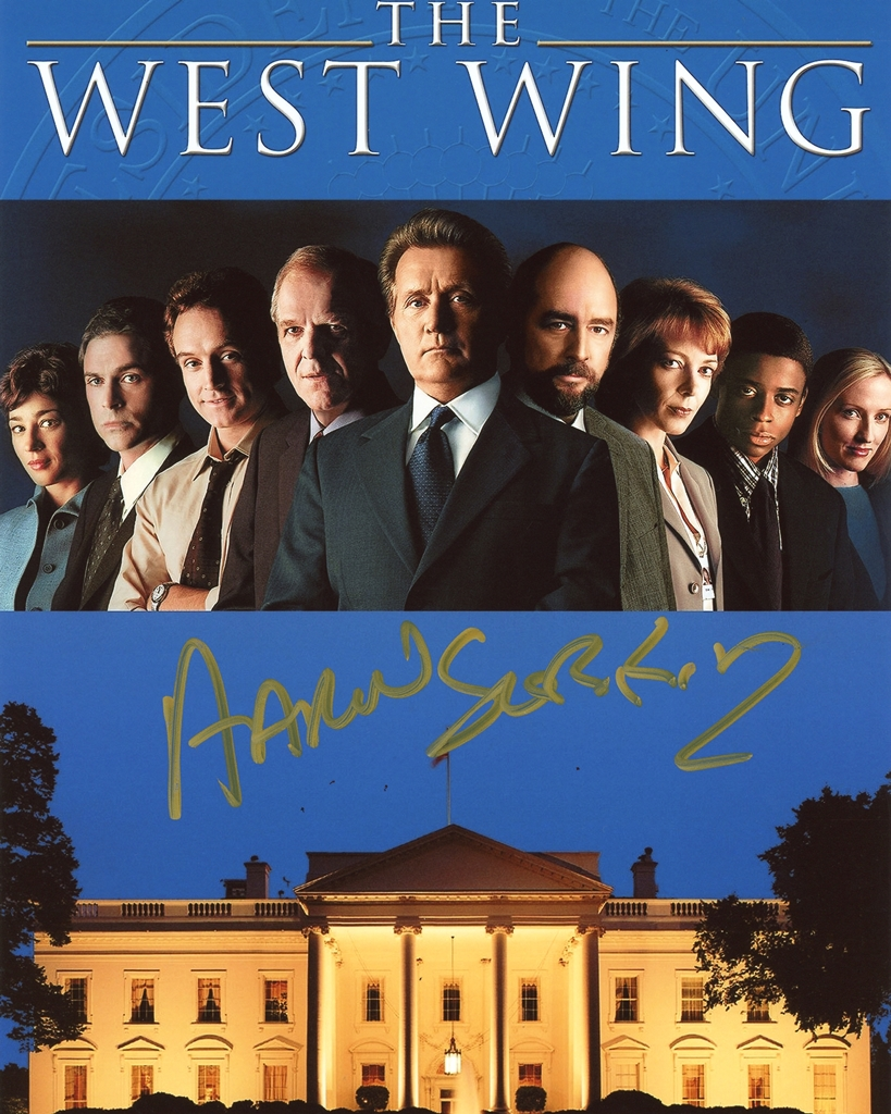 Aaron Sorkin Signed Photo