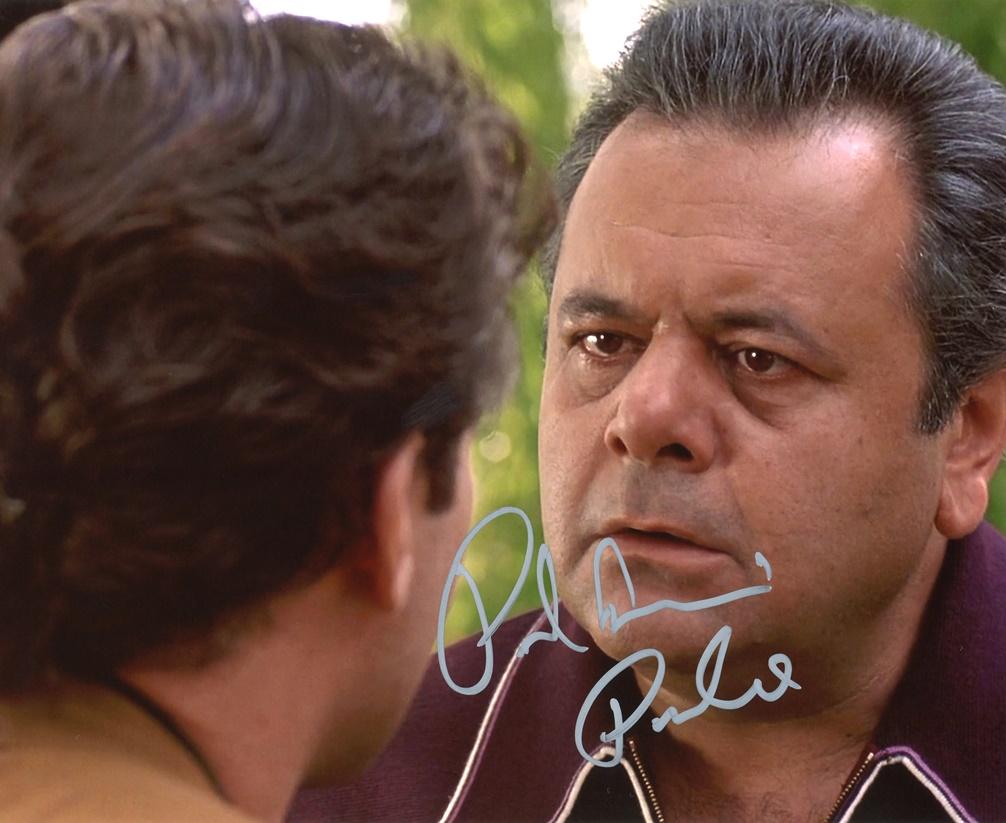 Paul Sorvino Signed Photo