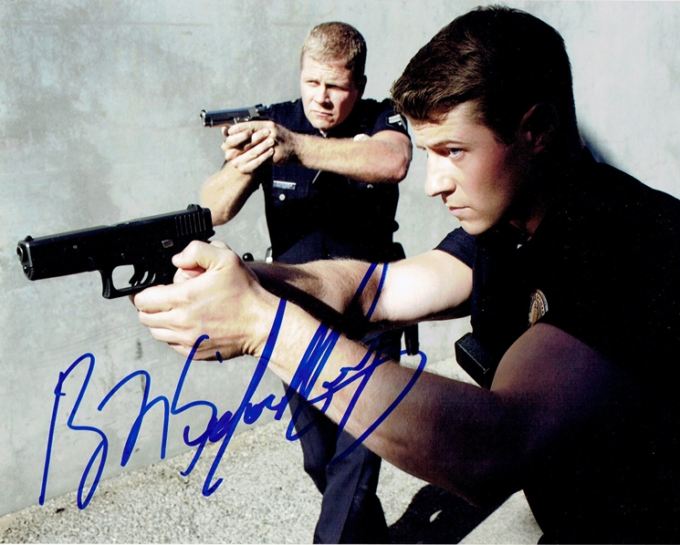 Ben McKenzie & Michael Cudlitz Signed Photo