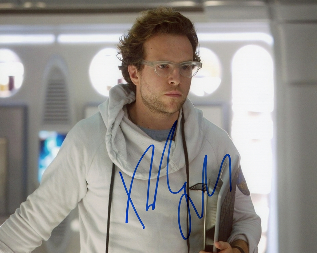 Rafe Spall Signed Photo