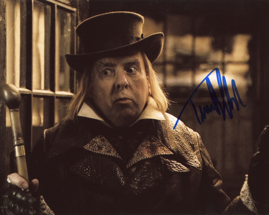 Timothy Spall Signed Photo