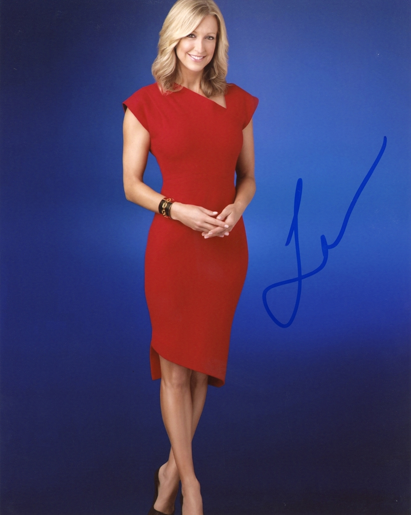 Lara Spencer Signed Photo
