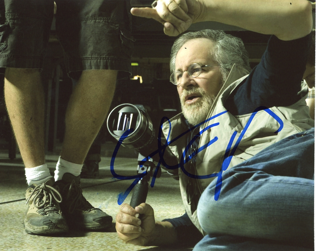 Steven Spielberg Signed Photo