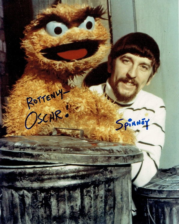 Caroll Spinney Signed Photo