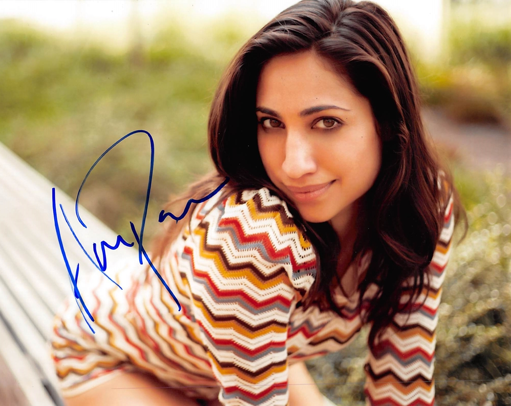 Annapurna Sriram Signed Photo