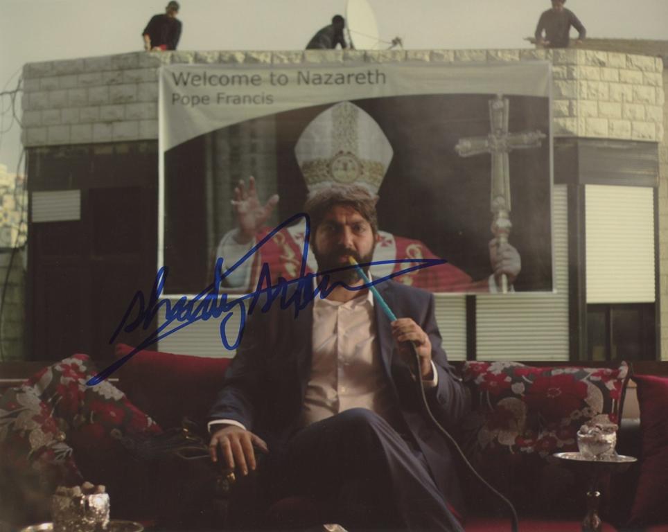 Shady Srour Signed Photo