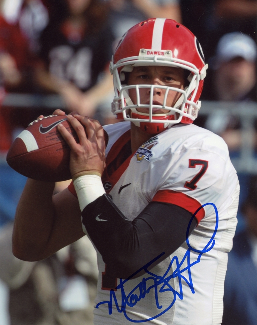 Matthew Stafford Signed Photo