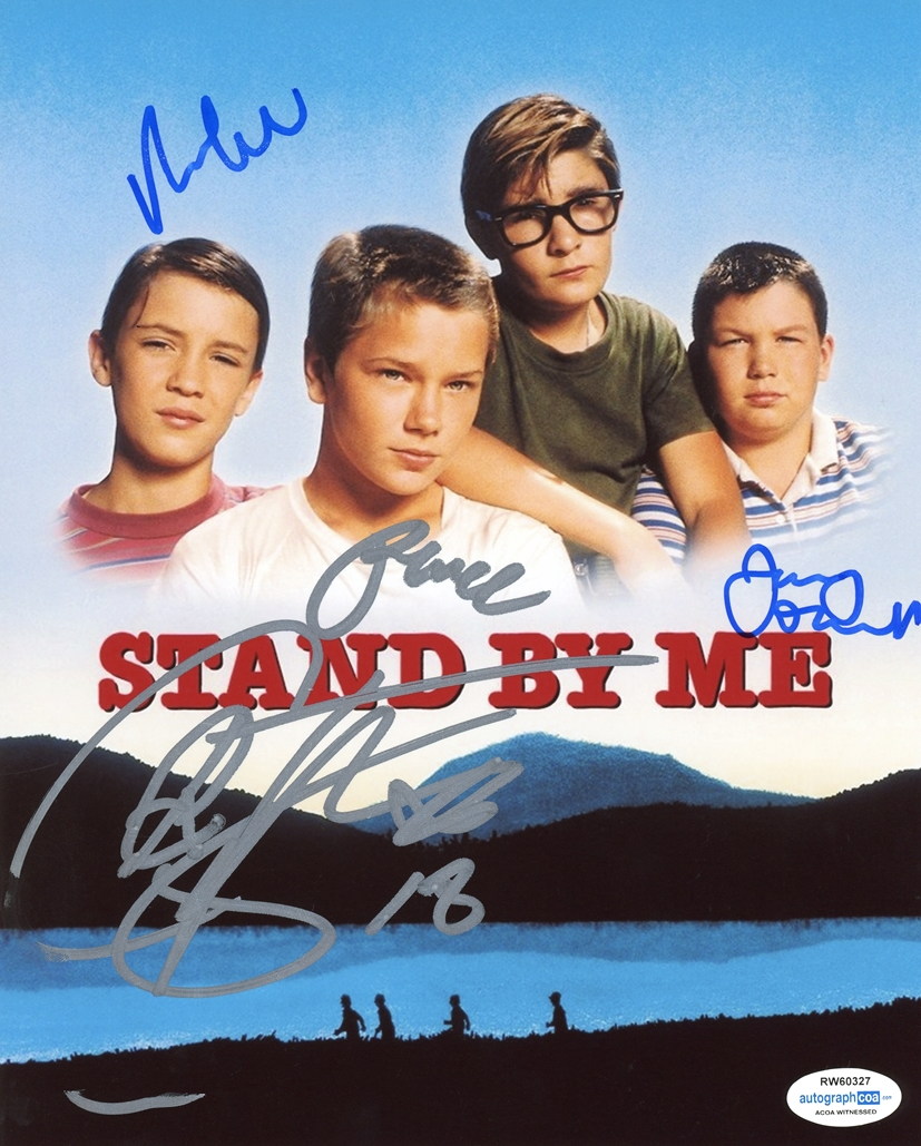Stand By Me Signed Photo