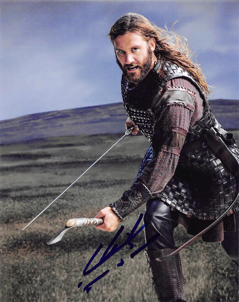 Clive Standen Signed Photo