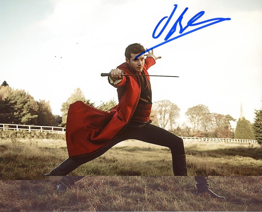 Oliver Stark Signed Photo