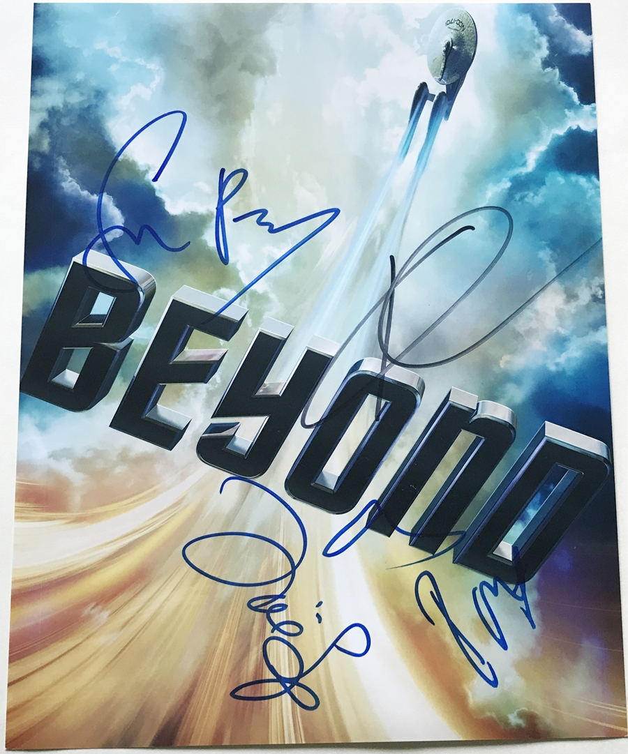 Star Trek Beyond Signed Photo