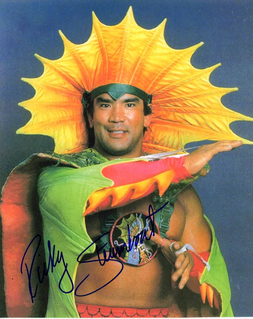 Ricky Steamboat Signed Photo