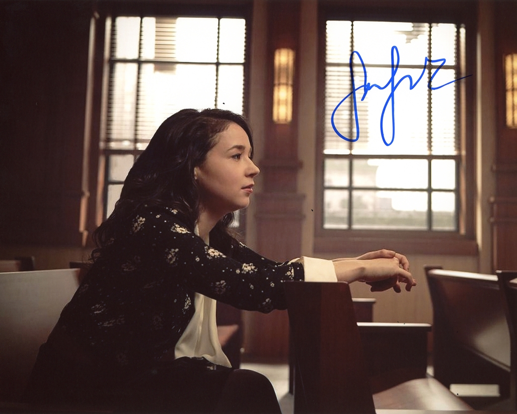 Sarah Steele Signed Photo