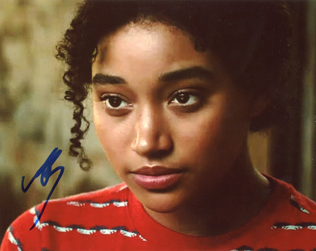 Amandla Stenberg Signed Photo