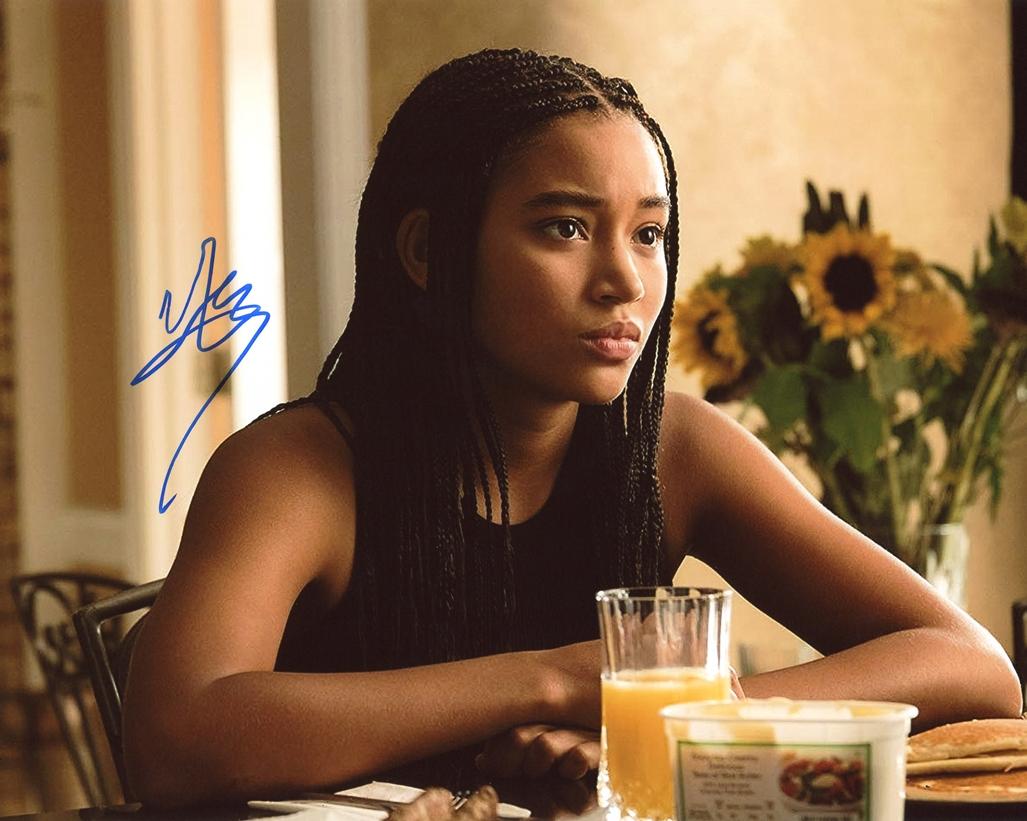 Amandla Stenberg Signed Photo